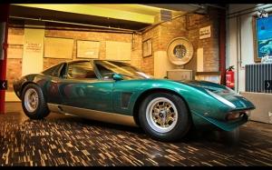 Lamborghini Jota Klasik Spor Kanvas Tablo