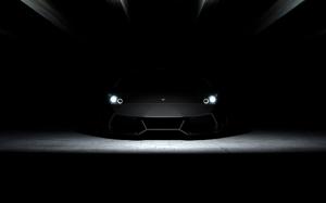 Lamborghini Mircielago Spor Otomobil Siyah Kanvas Tablo