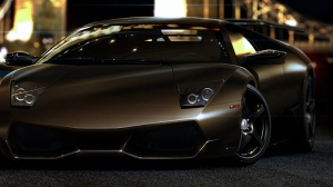 Lamborghini Murcielago Kahve Otomobil Araçlar Kanvas Tablo