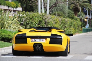 Lamborghini Murcielago Roadster Araçlar Kanvas Tablo