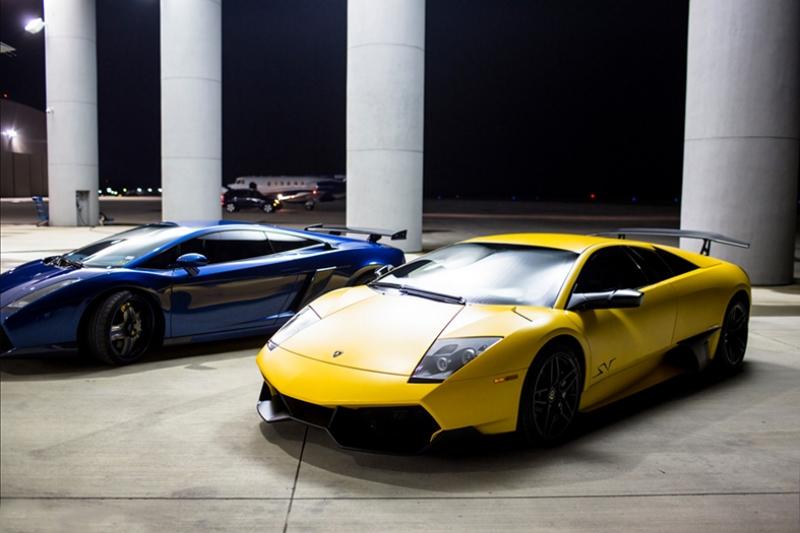 Lamborghini Murcielago SV Spor Otomobil Kanvas Tablo