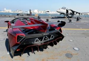 Lamborghini Veneno Spor Otomobil Araçlar Kanvas Tablo