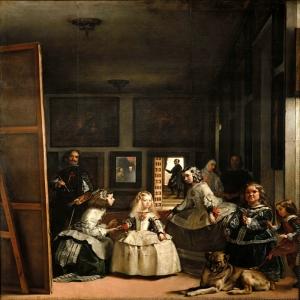 Las Meninas 1656, Velazquez Klasik Sanat Kanvas Tablo