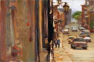 Latin Amerika Sokakları, Sokak Temalı Kanvas Tablo