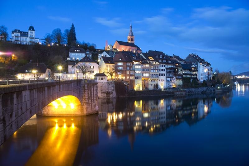 Laufenburg Dünyaca Ünlü Şehirler Kanvas Tablo
