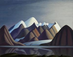 Lawren Harris Thule Dağı Bylot Adasi Yağlı Boya Klasik Sanat Canvas Tablo