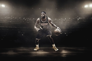 Lebron James Miami Heat Nba Basketbol Kanvas Tablo