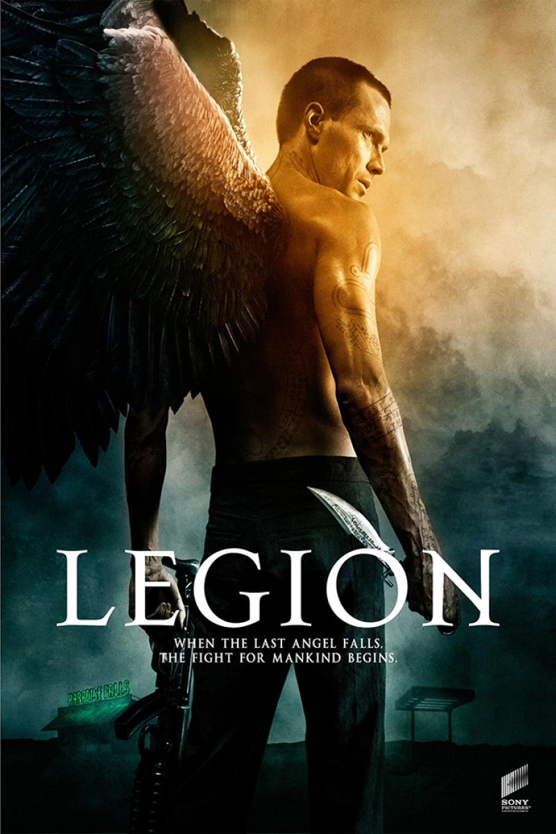 Legion Film Afişi Sinema Kanvas Tablo