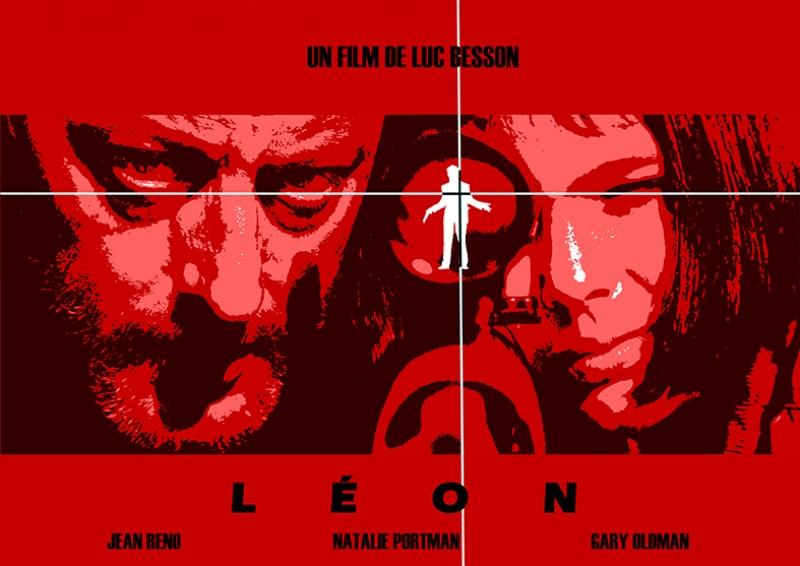 Leon Afiş Kanvas Tablo