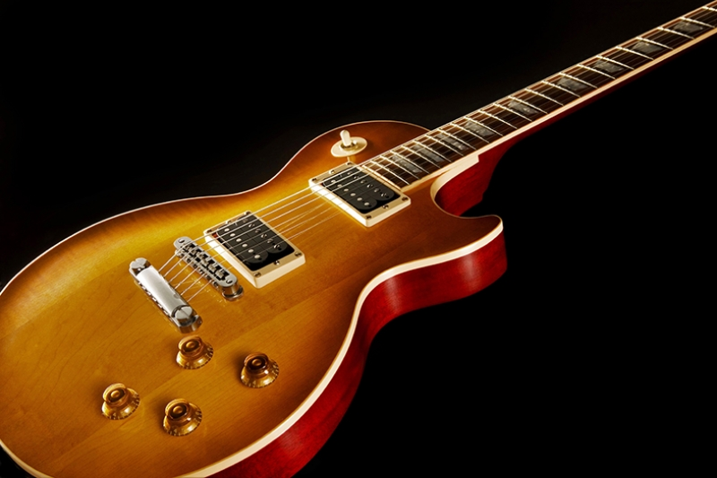 Les Paul Gitar Müzik Kanvas Tablo