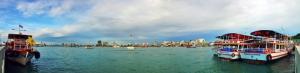 Liman Panaromik Kanvas Tablo