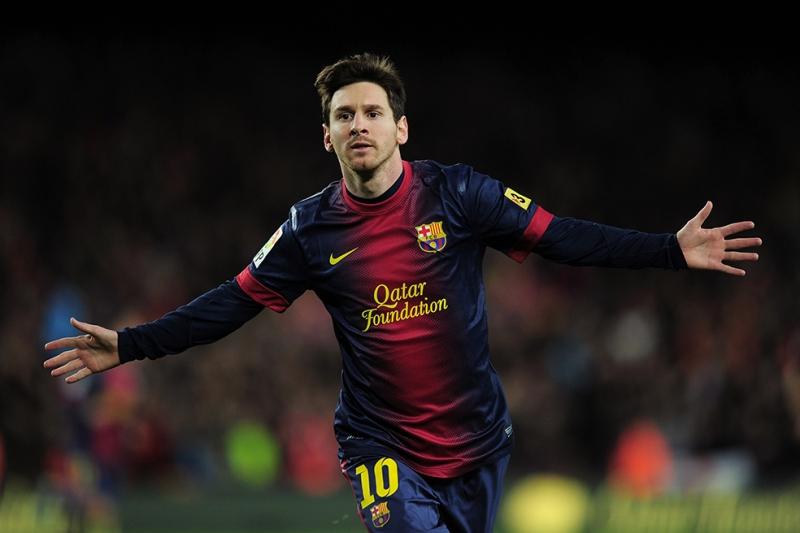 Lionel Messi 10 Numara Spor Kanvas Tablo