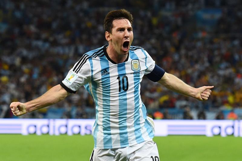 Lionel Messi Arjantin Milli Takım Kanvas Tablo