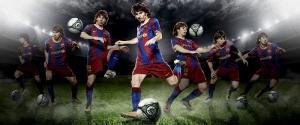 Lionel Messi Barcelona Futbol Spor Kanvas Tablo