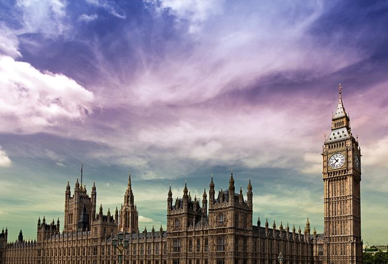 Londra Big Ben Dünyaca Ünlü Şehirler Kanvas Tablo