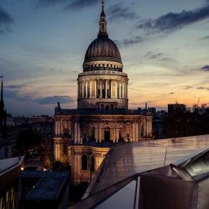 Londra İngiltere Şehir Manzarası Yeni Binalar-7 Dünyaca Ünlü Şehirler Kanvas Tablo