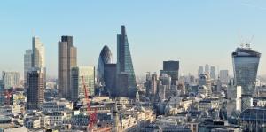Londra İngiltere Şehir Manzarası Yeni Binalar Dünyaca Ünlü Şehirler Kanvas Tablo