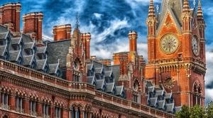 Londra Şehir Manzarası Dünyaca Ünlü Şehirler Kanvas Tablo