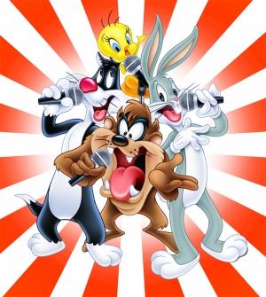 Looney Tunes Kahramanları-2 Bebek & Çocuk Dünyası Kanvas Tablo