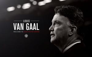 Louis Van Gaal Manchester United Hoşgeldin Kanvas Tablo