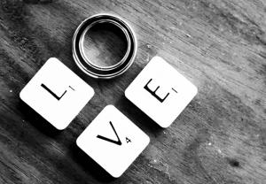 Love Aşk & Sevgi Kanvas Tablo