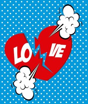 Love Popüler Kültür Kanvas Tablo