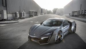 Lykan Hypersport Spor Otomobil Araçlar Kanvas Tablo