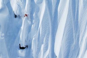 Lyngen Norveç Kayak Doğa Manzaraları Kanvas Tablo