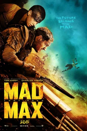 Mad Max-2015 Film Afişi Sinema Kanvas Tablo