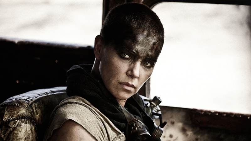 Mad Max Charlize Threon Kanvas Tablo