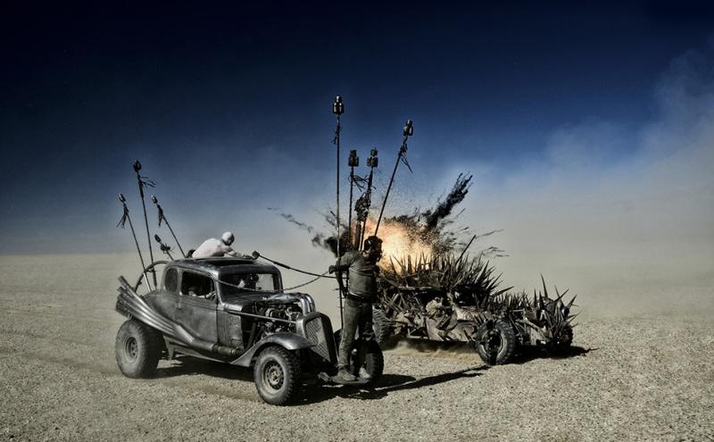 Mad Max Fury Road 4 Sinema Kanvas Tablo