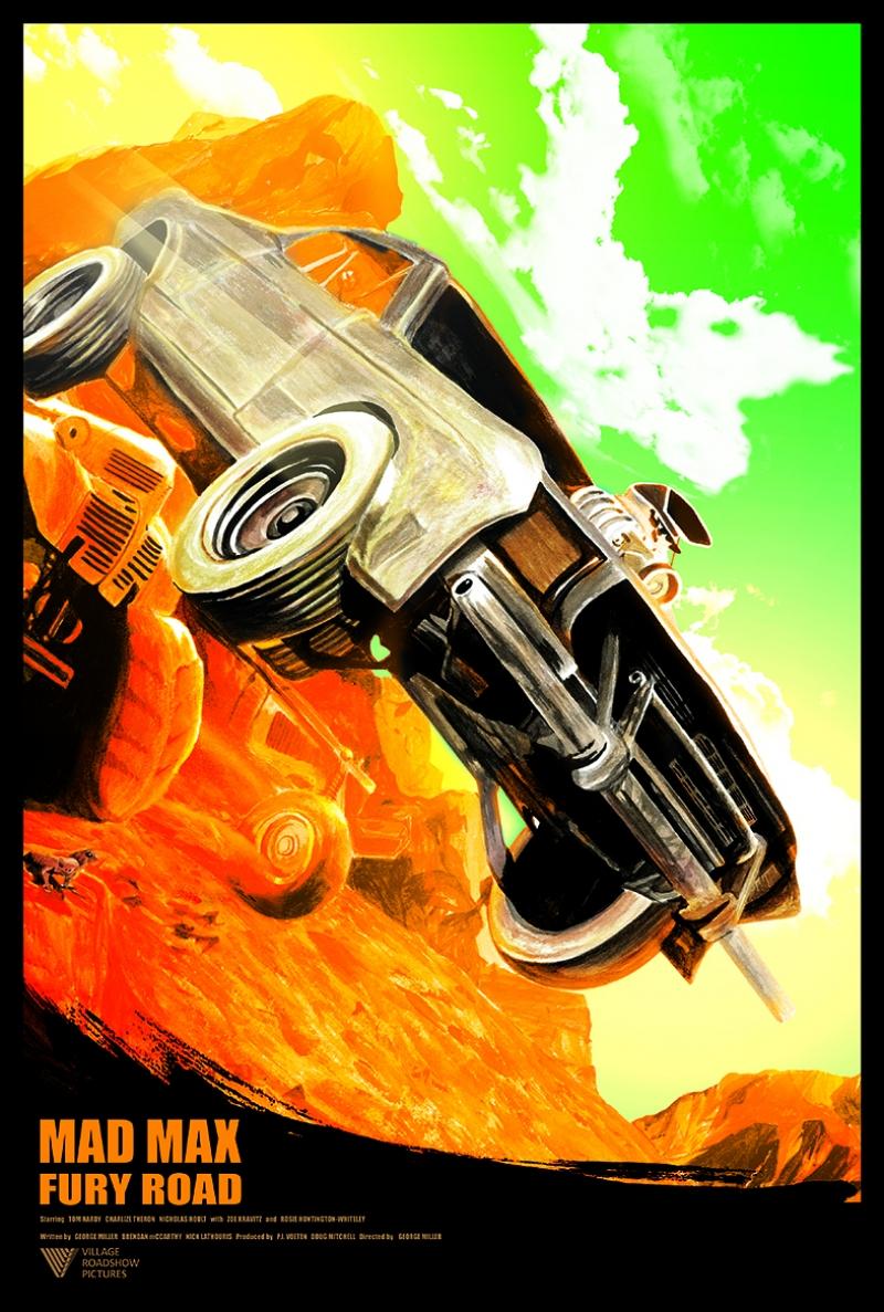 Mad Max Kanvas Kanvas Tablo 5