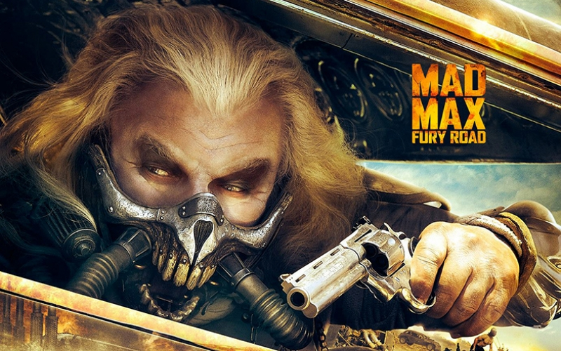 Mad Max Kanvas Tablo