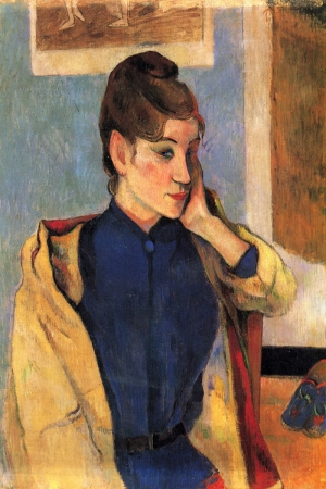 Madeline Bernard Portresi Paul Gauguin Reproduksiyon Kanvas Tablo