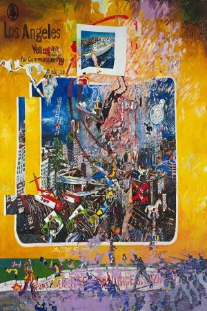 Malcolm Morley Locustun Gunu Yagli Boya Klasik Sanat Kanvas Tablo