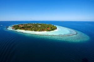 Maldivler Kumsal 2 Doğa Manzaraları Kanvas Tablo