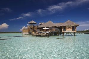 Maldivler Kumsal Deniz Doğa Manzaraları Kanvas Tablo
