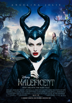 Maleficent Afiş Kanvas Tablo