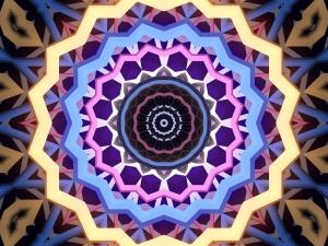 Mandala Popüler Kültür Kanvas Tablo