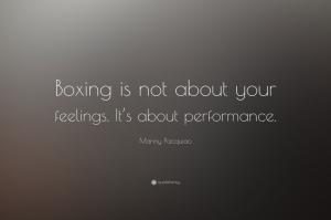 Manny Pacquao Quote Demeç Özlü Söz 1 Boks Spor Kanvas Tablo