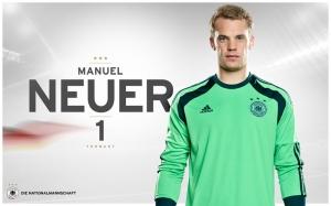 Manuel Neuer Spor Kanvas Tablo