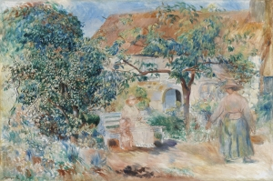 Manzara, Pierre August Renoir Klasik Sanat Kanvas Tablo