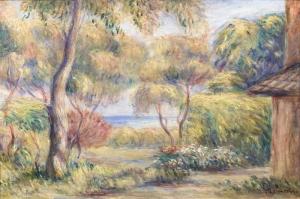 Manzara, Pierre August Renoir, Paysage Cagnes Klasik Sanat Kanvas Tablo