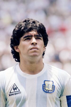 Maradona Dünya Kupası Arjantin Futbol Spor Kanvas Tablo