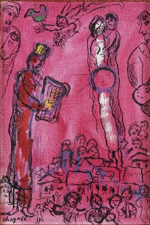 Marc Chagall-9 Klasik Sanat Kanvas Tablo