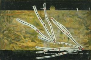 Marcel Duchamp Sayfa Ayiraclarinin Networku Yagli Boya Klasik Sanat Kanvas Tablo