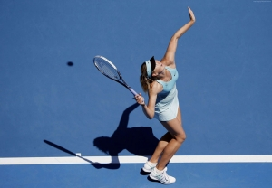 Maria Sharapova Tenis Spor Kanvas Tablo