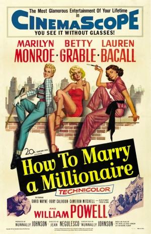 Marilny Monroe Film Poster Çizim Kanvas Tablo