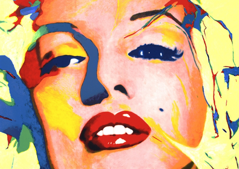 Marilny Monroe Popüler Kültür Kanvas Tablo