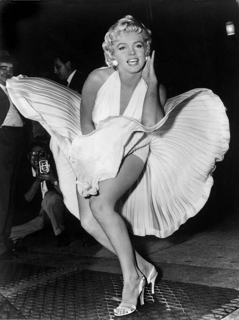 Marilyn Monroe 5 Ünlü Yüzler Kanvas Tablo